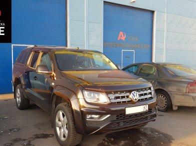 Рис. 2 Пневмоподвеска на Volkswagen Amarok - Этапы установки