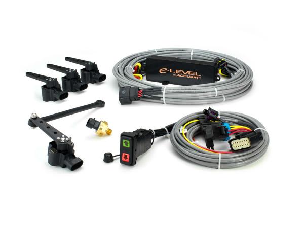 Купить Система управления пневмоподвеской AccuAir e-Level с клавишей Rocker Switch цена на систему управления АккуЭйр с контроллером